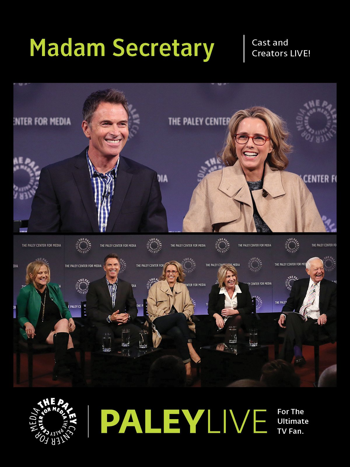 Madam Secretary: Cast and Creators at PaleyFest NY
