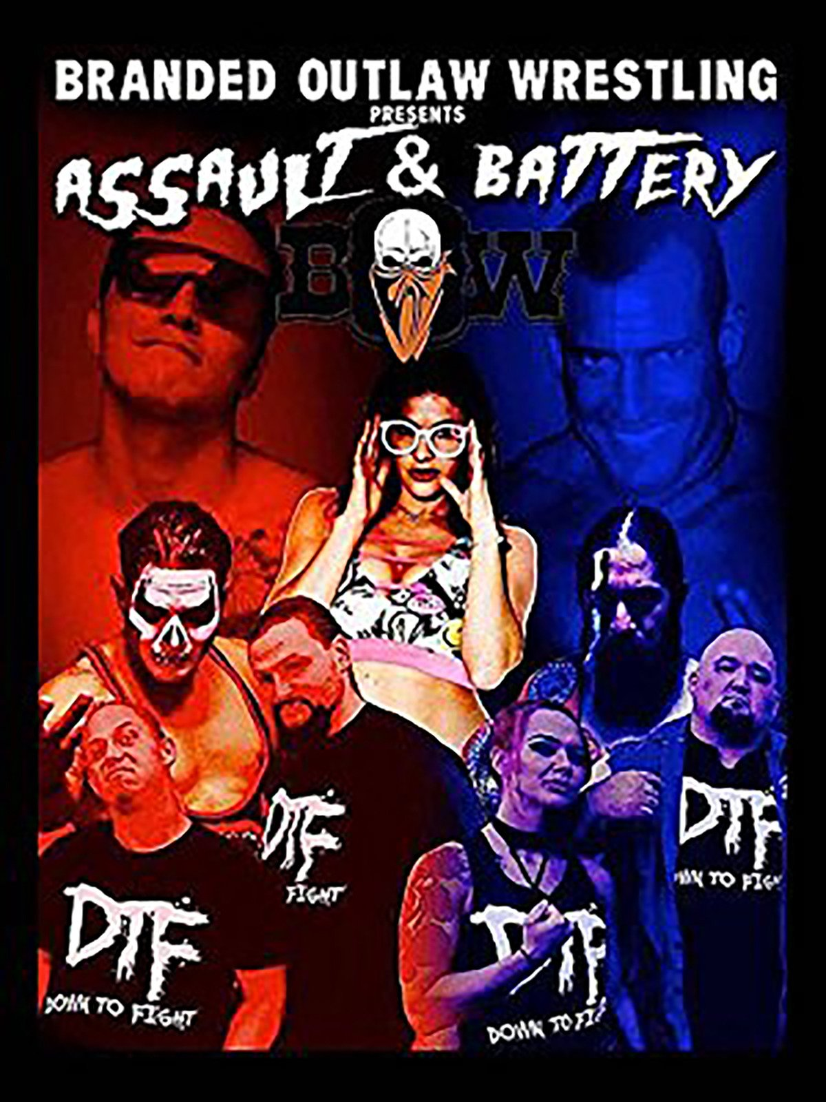 Branded Outlaw Wrestling: Assault & Battery 2017