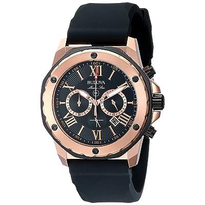 Bulova Men's 98B104 Marine Star Calendar Dress Watch