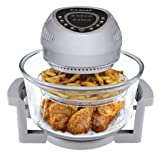 Big Boss 8925 High Speed/Low Energy Digital Oil-Less Fryer, 1300-watt
