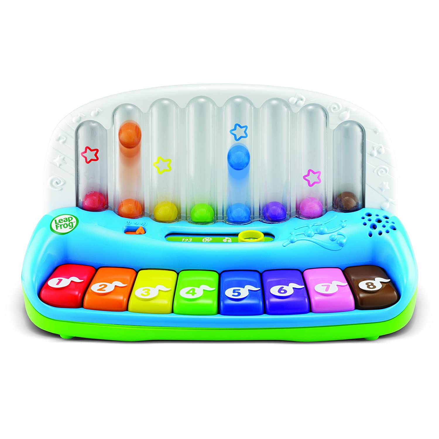 Leapfrog Poppin Play Piano Rainbow Musical Learning Toy