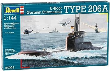 Revell - 5095 - Maquette Classique à Peindre et à Coller - U-Boot Klasse 206A