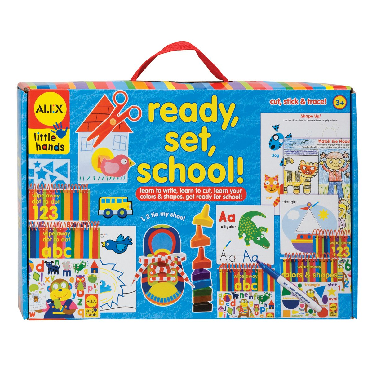 Alex Ready Set School Activity Box