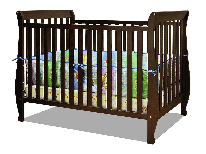 Athena Naomi 4 in 1 Crib with Toddler Rail