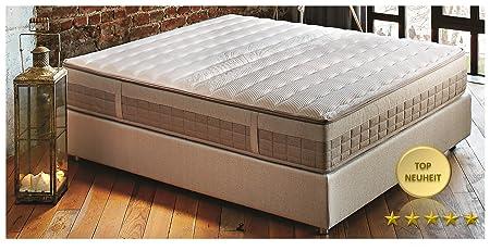 Matratze Boxspring Taschenfederkern Visco 30cm anpassungsfähige Multifeder deckt H2 H3 H4 ab Neue Technologie Ravenna Comfort (90cm x 200cm)