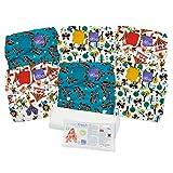 Bambino Mio, miosolo cloth diaper set, carnival (Color: Carnival)