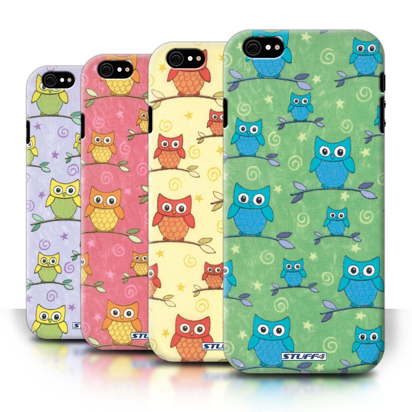 STUFF4 Phone Case / Cover for Apple iPhone 6/6S / Pack (11 pcs) / Cute Owl Pattern Collection / by Deb Strain / Penny Lane Publishing, Inc.reviews and more information