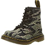 Dr. Martens - Unisex-Child 1460 Camo T Infants Lace Boot, Size: 7 M US Big Kid / 6 F(M) UK Youth, Color: Green Jungle Camo Kids T Canvas (Color: Green Jungle Camo Kids T Canvas, Tamaño: 7 Big Kid)