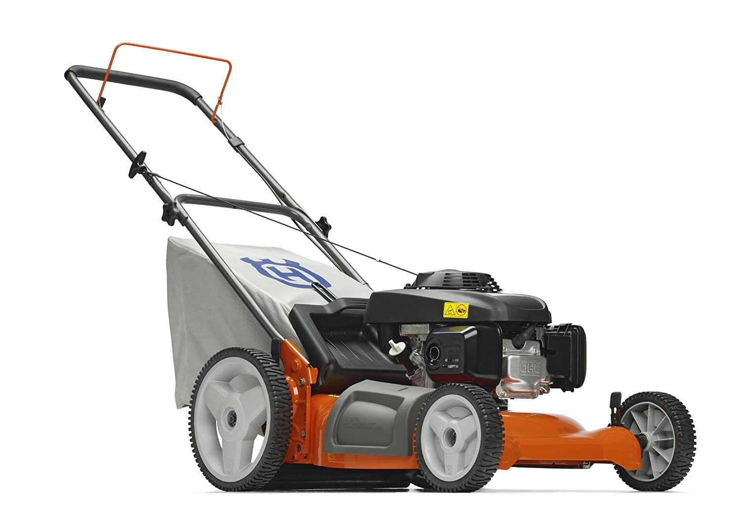 Lawn Mower With High Rear…