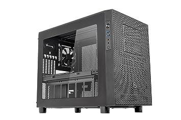 Thermaltake - Core X2 - Micro-Tour Boitier PC avec fenêtre (Micro-ATX / Mini-ITX) Noir