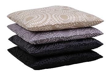 kissenh lle retro kreise kissenbezug zierkissen deko kissen in 40x40 50x50 o 60x60 cm farbwahl. Black Bedroom Furniture Sets. Home Design Ideas