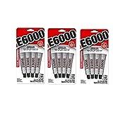 E6000 5510310 Craft Adhesive Mini, 3 Pack (Tamaño: 3 Pack)