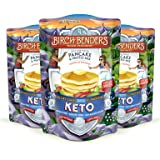 Keto Pancake & Waffle Mix by Birch Benders, Low-Carb, High Protein, Grain-free, Gluten-free, Low Glycemic, Keto-Friendly, Made with Almond, Coconut & Cassava Flour, 3 Pack (10oz each) (Tamaño: 3 Pack)