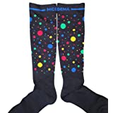 MICODEMA Compression Socks Wide Calf - Big Foot and Leg with Ankle and Arch Support | Firm Gradient Pressure 28 mmHg, Knee High Plus Size Premium Hosier (Multi-color1, X-Wide) (Color: Multi-color1, Tamaño: X-Wide)