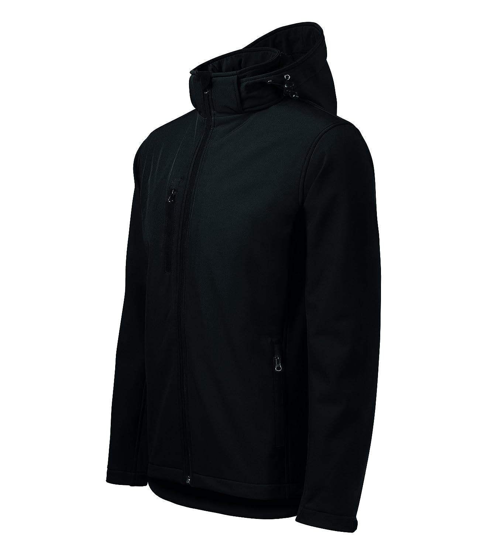 MIHEROS 3-Lagen Softshell Outdoor Jacke mit Kapuze für Herren – besonders wasserabweisend kaufen