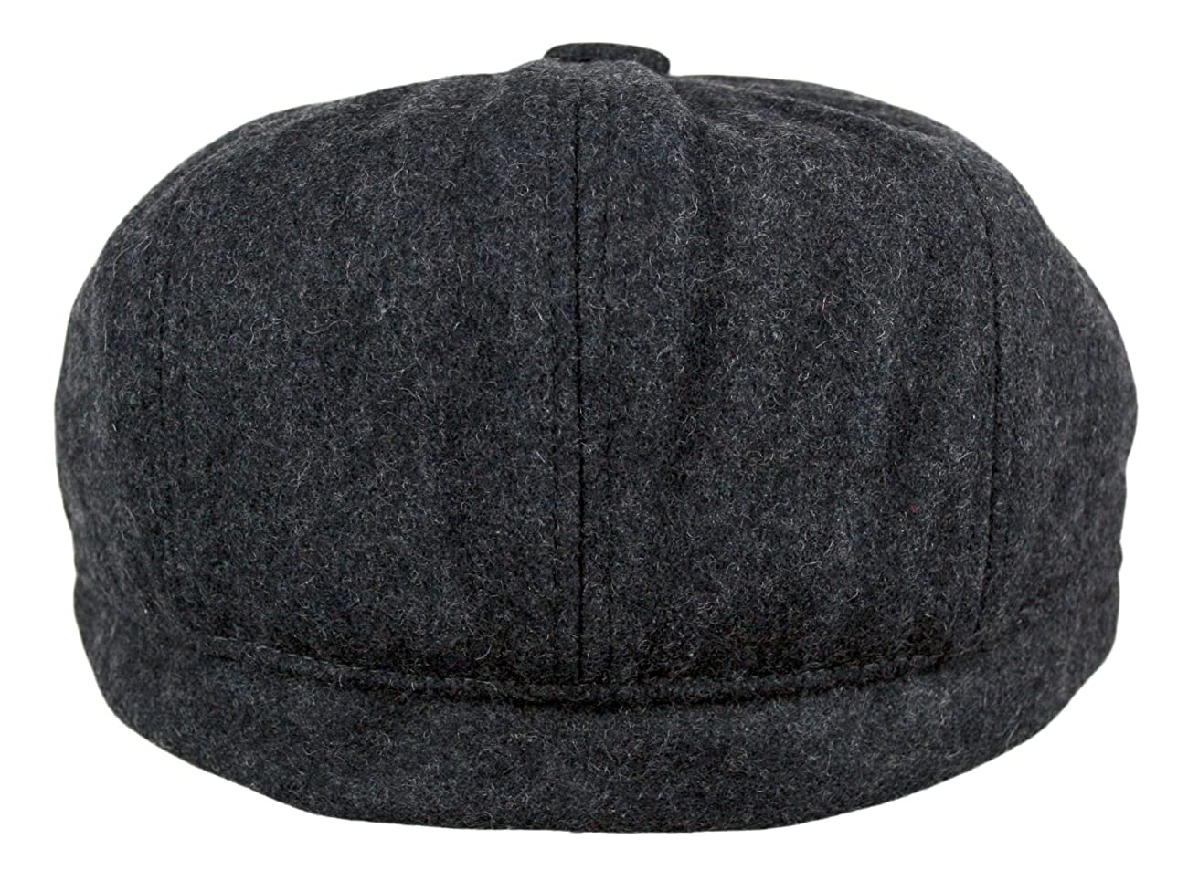 Men's 5 Panel Vintage Style Wool Blend Gatsby Ivy Newsboy Hat 5