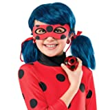 Rubie's Costume Miraculous Ladybug Yo-Yo and Clip-On Earrings (Color: Red, Tamaño: Standard)