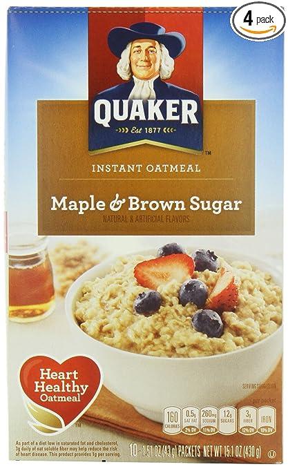 Brown Sugar Cinnamon Oatmeal Oatmeal Maple Brown Sugar