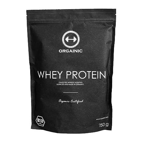 ORGAINIC Bio Vanilla Whey Protein - Bio Zertifizierung (DE-ÖKO-60) - Grasfutterung - 750 g