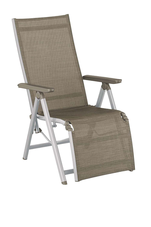 Kettler 0308016-0210 Family Relaxsessel, silber / taupe günstig bestellen