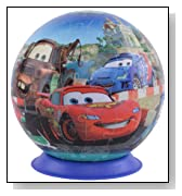 Disney Cars 2 108 Pieces Puzzle Ball