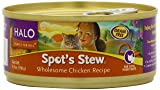 Spot's Stew for Cats, Wholesome Chicken, 5-1/2-Ounce, 12-Can