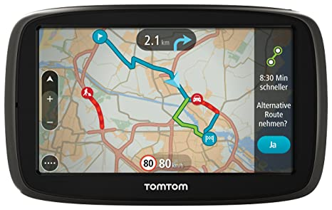TomTom GO 50 GPS Eléments Dédiés à la Navigation Embarquée Europe Fixe, 16:9 (Import Europe)
