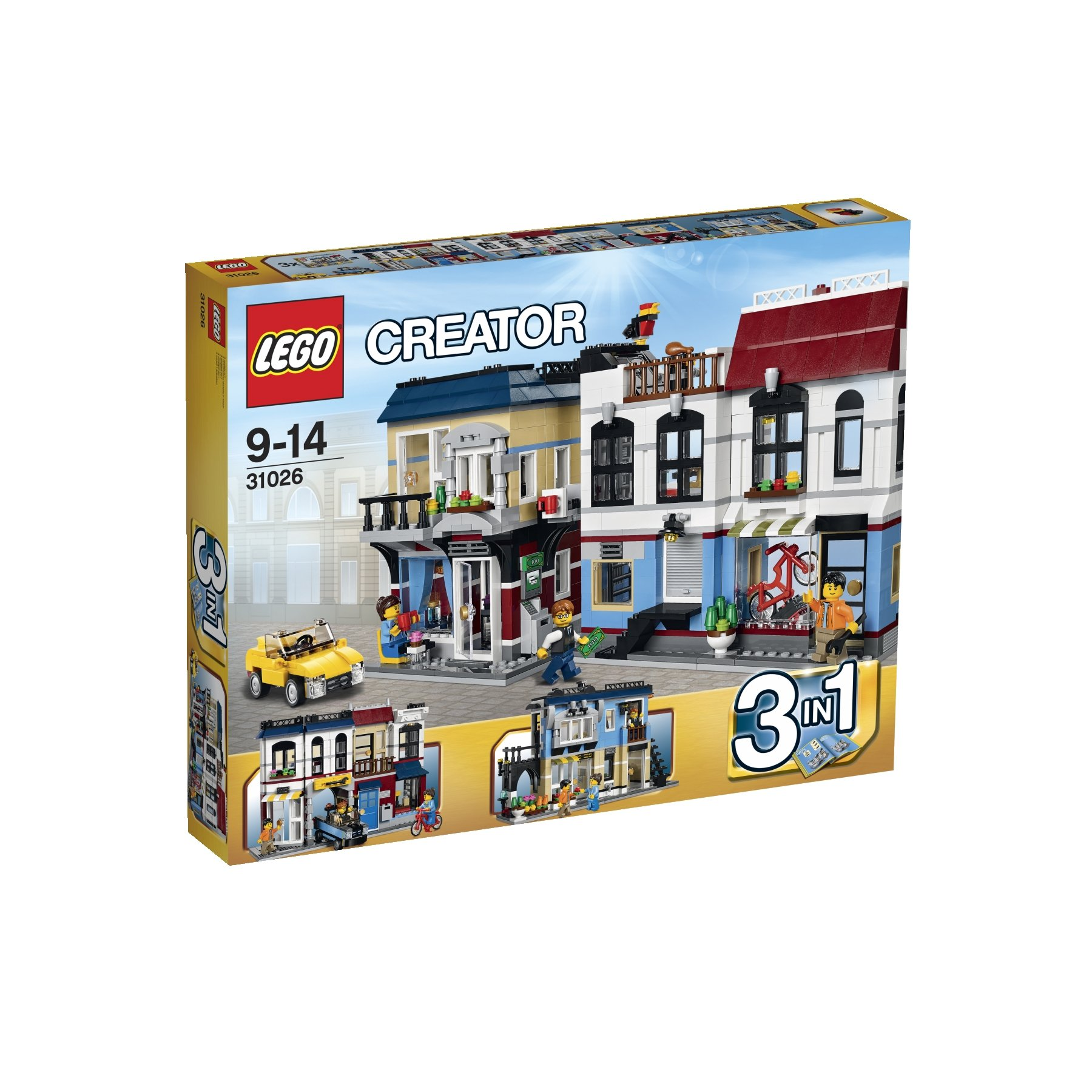 Lego Creator 31026 Bike Shop and Café