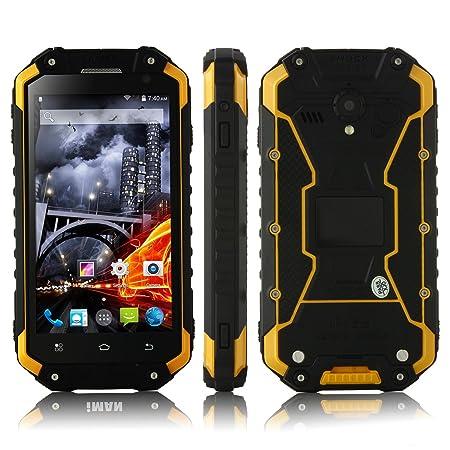 """Bestore(TM) - X8 IP68 Tri-preuve étanche à la poussière antichoc MTK6592 1.7GHz Octa base 4,7"""" pouces 1280 x 720 Pixel écran IPS HD 2G RAM + 32G ROM 13MP Caméra Dual SIM 3G WCDMA NFC OTG PTT Talkie Walkie dév"""