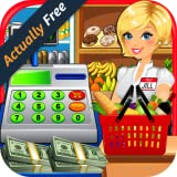 Supermarket & Grocery Store Simulator - Kids Cash Register, Shopping Mall, & Food Games FREE
