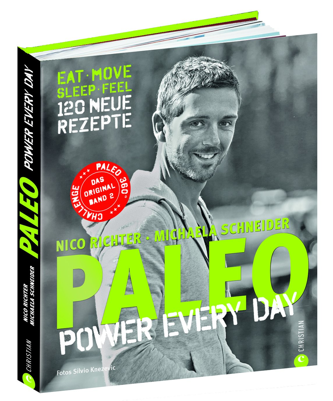 Vorschaubild: Paleo 2 - Steinzeit Diät: Power every day. eat move sleep feel