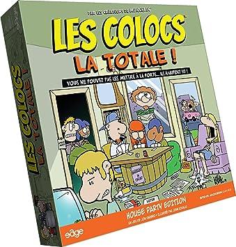 Asmodee - Clc02 - Jeu De Cartes - Les Colocs - La Totale