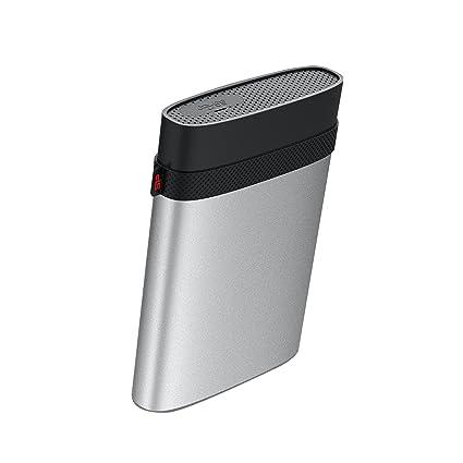 """2 To 2,5 """"Silicon Power disque dur portable, ARMOR A85 qualité militaire, antichoc, eau et résistant à la poussière"""