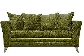 Essex tela 3-Seat de sofá verde