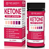 Ketone Test Strips for Testing Ketosis Levels in 15 Seconds Using Urinalysis. Accurate Results to Guarantee You Lose Weight & Feel Great on a Ketogenic, Diabetic, Paleo or Low Carb Diet-125 Strips (Tamaño: 1 Bottle)
