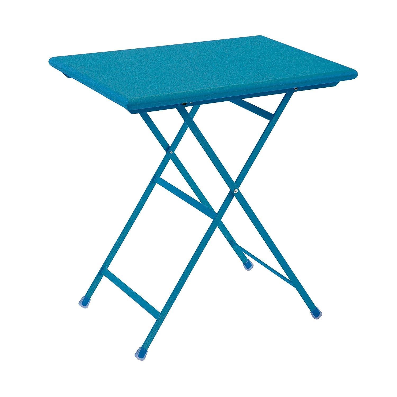 Arc en Ciel Klapptisch rechteckig – blau – 70 x 50 cm jetzt bestellen
