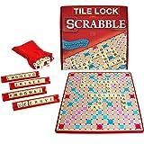 Winning Moves Tile Lock Scrabble (Color: Multicolor, Tamaño: None)