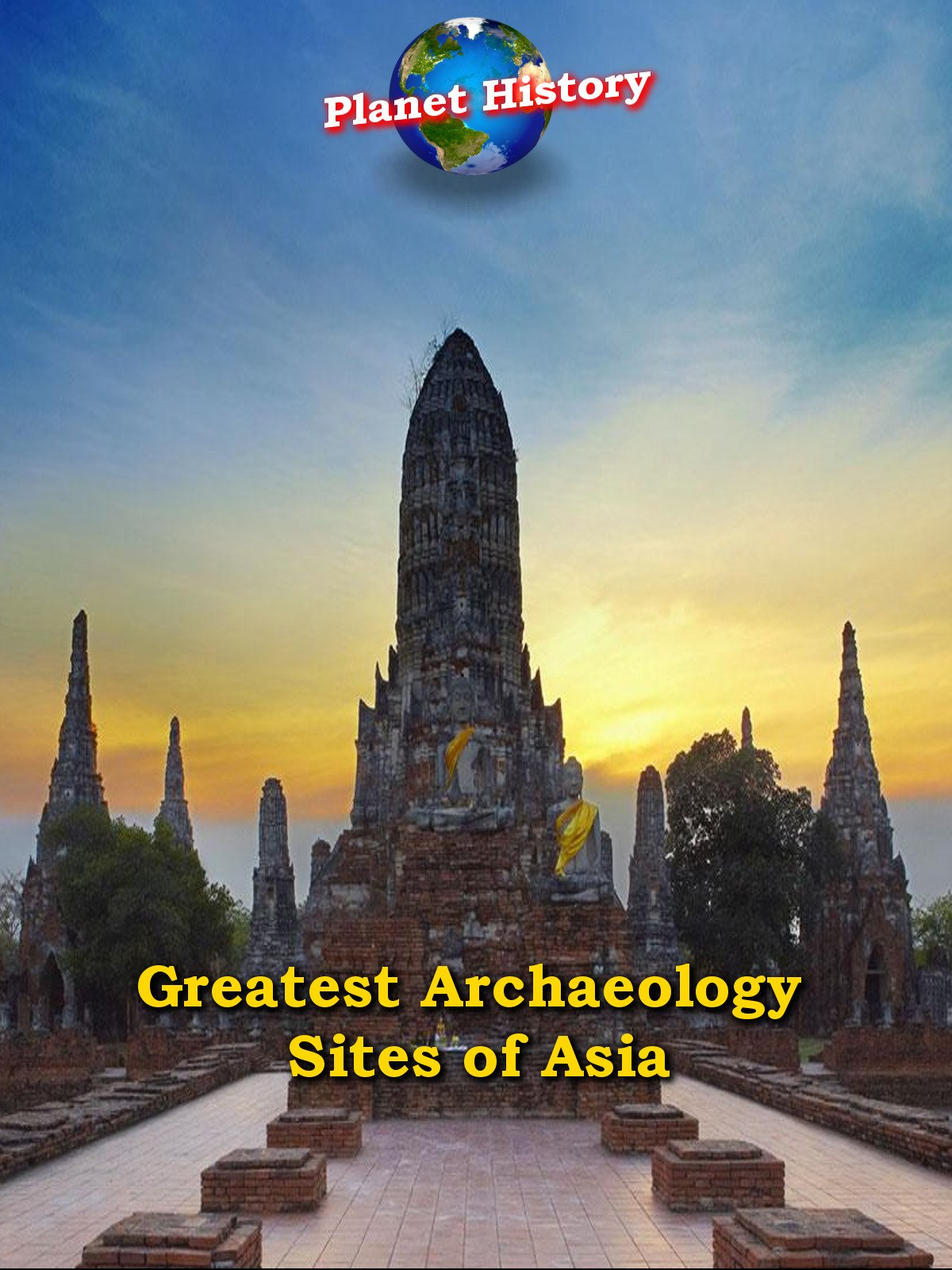 Greatest Archaeology Sites of Asia - Planet History on Amazon Prime Video UK
