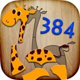 384 Puzzle f�r Kinder - Lernspiel f�r Kinder mit ersten W�rtern & Aussprache