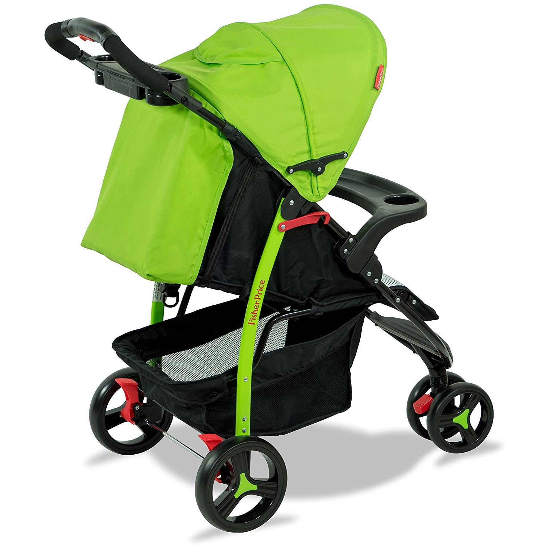 Rover Stroller cum Pram - Green