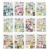 Carpe Diem by by Simple Stories Seasons Sticker Tablet (Tamaño: Pack of 1)