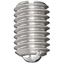 Jergens 11019 Steel Ball Plungers, 303 Stainless Steel, 1/2-13 Thread, With Locking Element