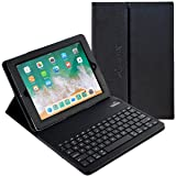 iPad Pro 10.5 Keyboard + Leather Case, Alpatronix KX150 10.5