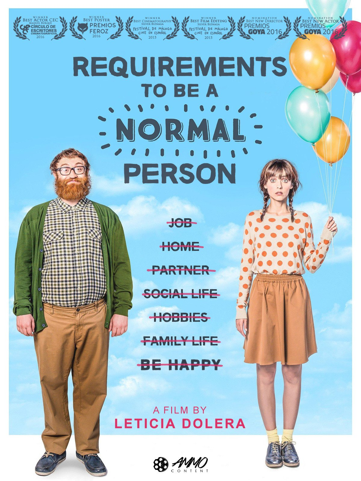Requirements To Be A Normal Person on Amazon Prime Video UK