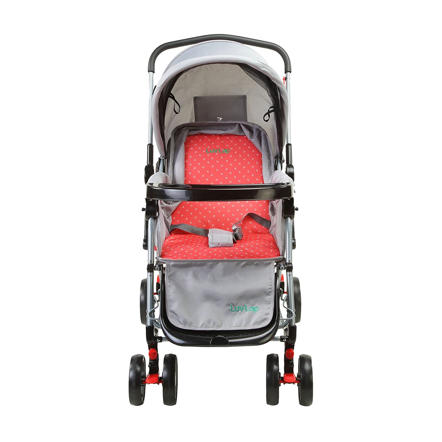 Cappuccino 2-in-1 Baby Stroller C120 Red