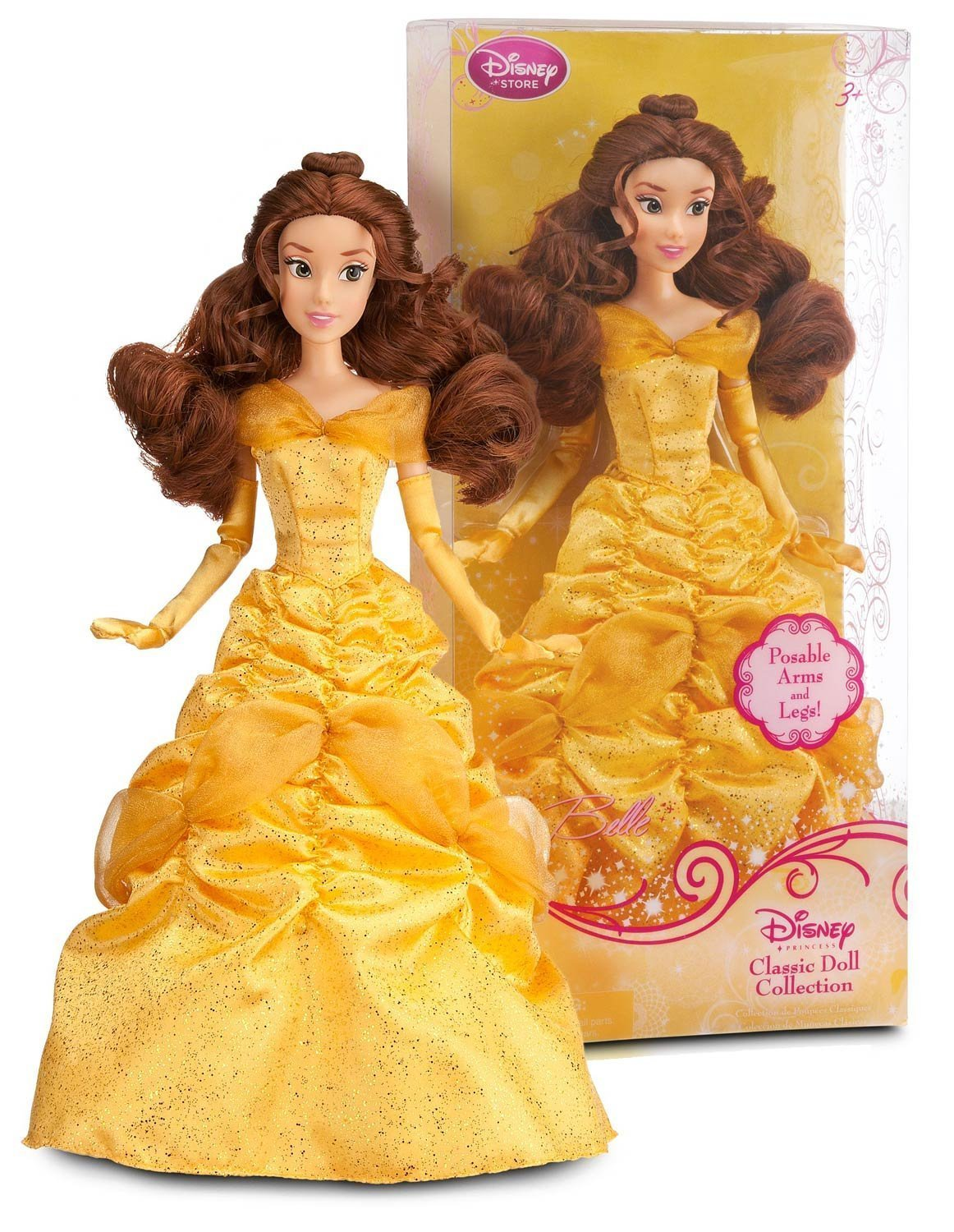 Disney Princess Belle Doll -- 12'' | eBay