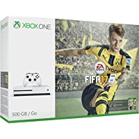 Microsoft Xbox One S 500GB FIFA 17 Console Bundle + Free Extra Wireless Controller + Free Game of Choice