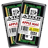 A-Tech 32GB Kit (2 x 16GB) Memory Ram for 2019 Apple iMac 27 inch Retina 5K (iMac19,1 A2115), 2018 Apple Mac Mini (Macmini8,1 A1993) DDR4 2666MHz PC4-21300 SODIMM (Tamaño: 32GB Kit (2 x 16GB))