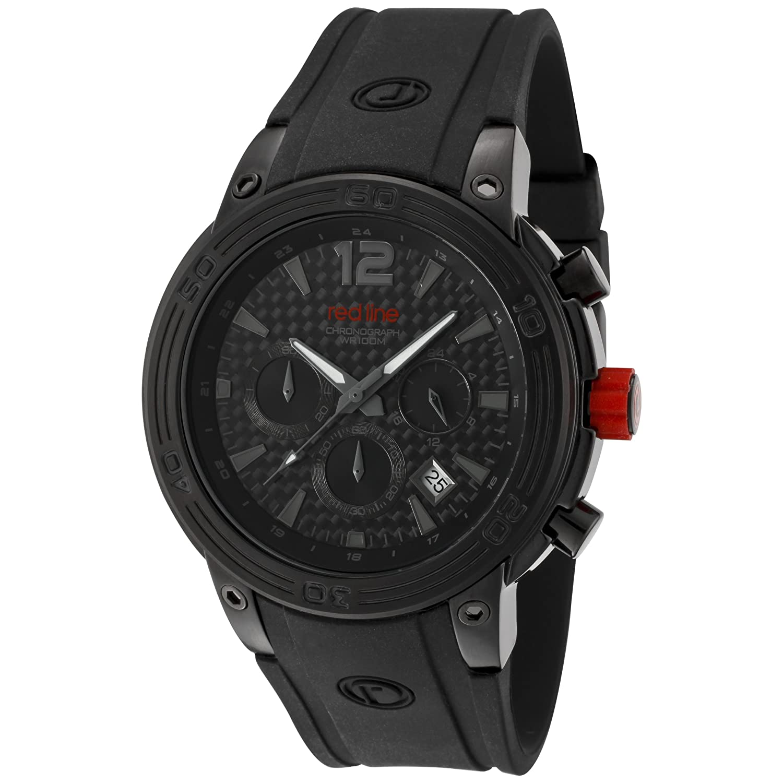 Red Line Mission Black Carbon Fiber Watch RL-50033-BB-01 at Sears.com