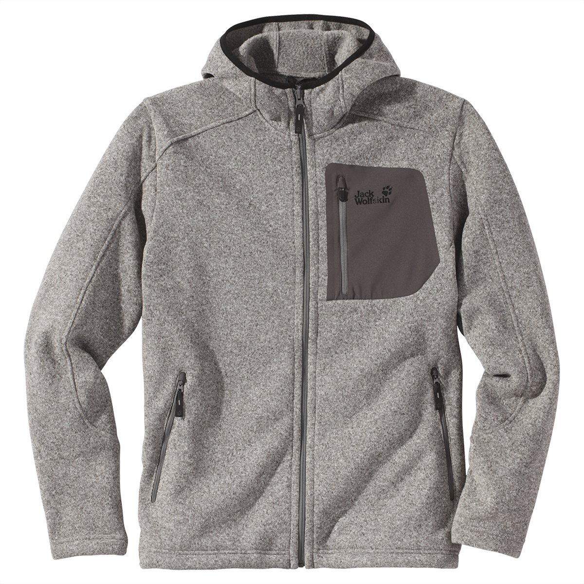 Jack Wolfskin CARIBOU HOODED JACKET MEN online bestellen